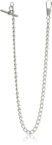 Charles-Hubert, Paris 3910-W T-Bar Pocket Watch Chain