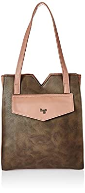 Baggit Women's Shoulder Bag (Brown) (Unitsnits 1)