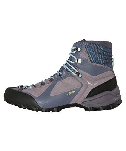 Salewa Damen WS Alpenviolet Mid Gore-TEX Trekking- & Wanderstiefel, Grisaille/Ethernal Blue, 40 EU