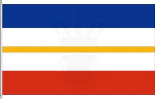 Königsbanner Hissflagge Landesflagge Mecklenburg-Vorpommern - 100 x 150cm - Flagge und Fahne