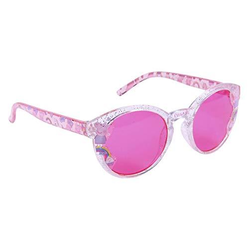 CERDÁ LIFE'S LITTLE MOMENTS Rosa Gafas Peppa Pig Sol de Color Licencia Oficial Nickelodeon, Talla única-Especialmente diseñadas para una adaptación Perfecta para Niñas