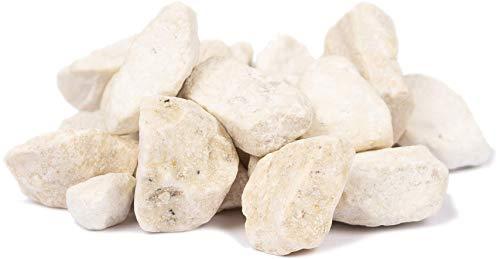 HEKU 30336-02: Deko-Steine Creme, 750g, in wiederverschließbarer Dose, 750 Gramm