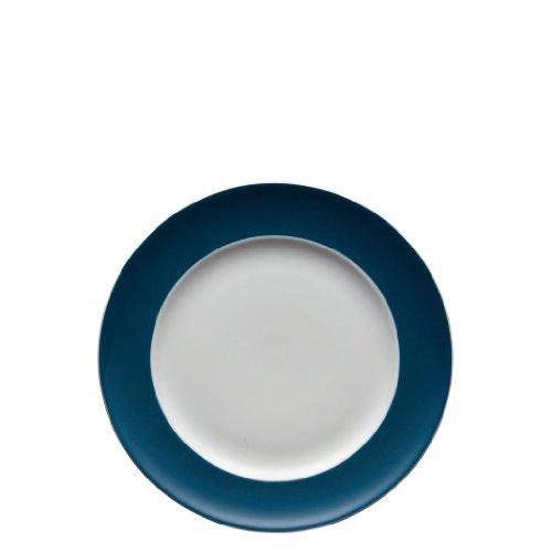 Rosenthal - Thomas - Sunny Day Frühstücksteller - Kuchenteller - Teller - Petrol - Blau Ø 22 cm