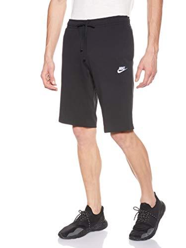Nike M Nsw Jsy Club, Pantaloncini Uomo, Nero/Bianco, S
