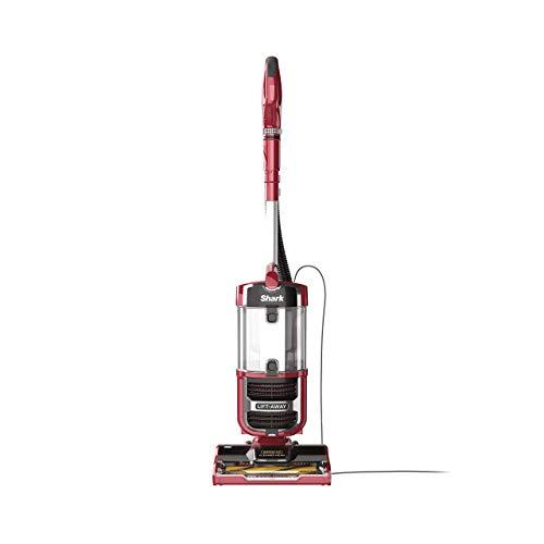 Shark Navigator Upright Vacuum with Lift-Away, Zero-M Anti-Hair Wrap Technology, Anti-Allergen + HEPA Filter and Swivel Steering (ZU561), Red Peony (Renewed)