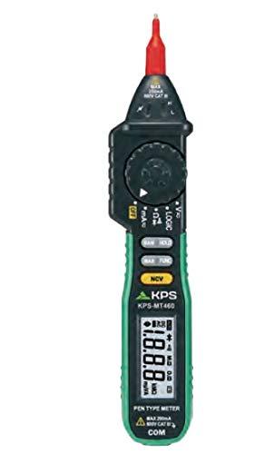 Multímetro digital tipo lápiz con detección sin contacto KPS-MT460
