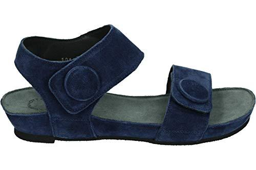 Ca'Shott 10154 - Sandalen met hakDames Sandalen - Kleur: Blau - Maat: 38