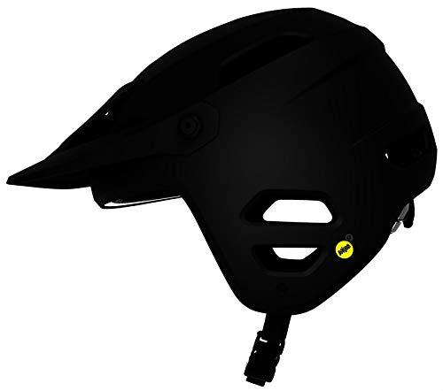 Giro Tyrant MIPS Dirt Mountain Bike Helmet - Matt Stealth, Small/Unisex MTB Bicycle Cycling Cycle Adult Safe Ride Headwear Guard Head Skull Protection Trail Enduro Jump Biking Safety Riding Wear