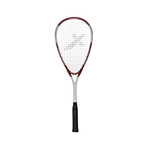 Vector X VXS-1040 Squash Racquet for Seniors, White-red