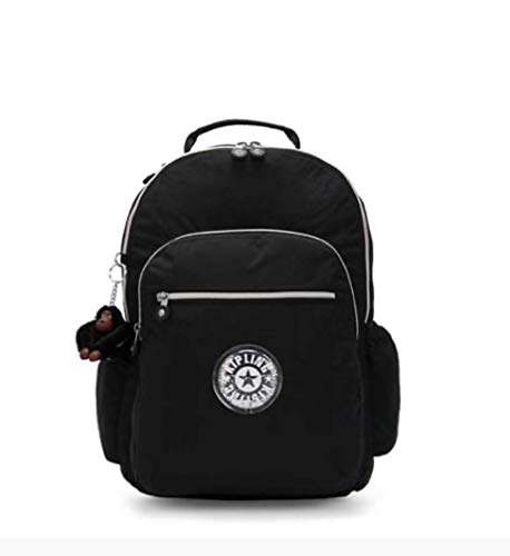 Kipling Seoul Go Laptop, Padded, Adjustable Backpack Straps, Zip Closure (Black GPL)