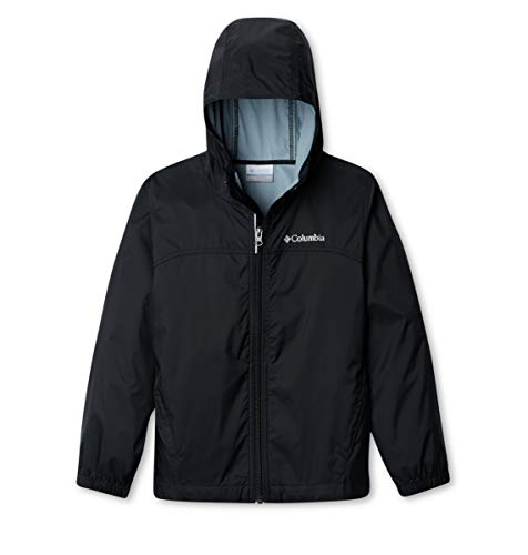 Columbia Boys Glennaker Rain Jacket, Black, Medium