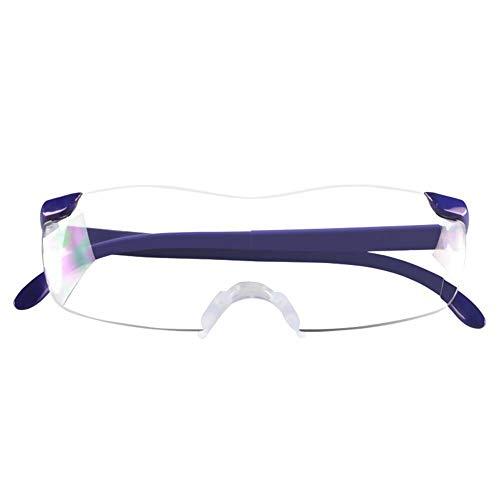 3 keer vergrootglas bril, hoofd gemonteerde vergrootglas, blokkeren blauw licht, leesbril Blauw