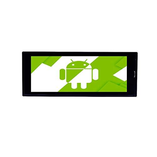 AOTSR 6,9 Pulgadas Android Pantalla Táctil 1 DIN Radio de Coche Estéreo para Automóvil Reproductor MP5 Autoradio, Soporte Navegación GPS Bluetooth WiFi FM USB Video DSP Mirror Link
