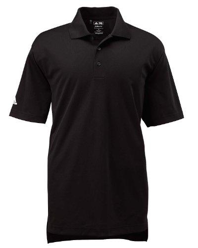 Adidas A130 Mens ClimaLite Basic Polo - Black, 2XL