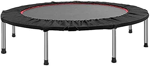"HBFFL Exercise Trampoline Trampoline 48"" Mini Fitness Trampoline Indoor for Adults Best Home Exercise Indoor Children's Bounce Bed Adult"