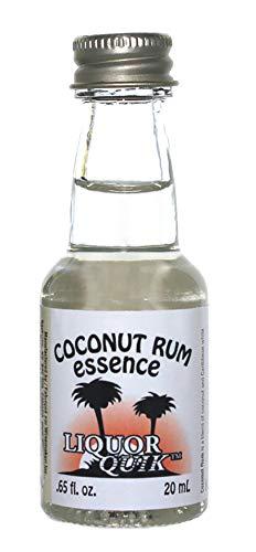 Liquor Quik Natural Rum Essence, 20 mL (Coconut Rum)