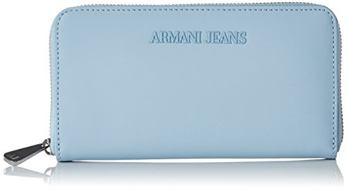 Armani Jeans Damen 9280327P772 Geldbörsen, Blau (New Light Blue 11530), 2x10x19 cm