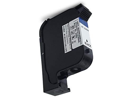 BENTSAI Original Schnell Trocken Tintenpatrone für (BT-HH6105B2) (BT-HH6105B3) Handheld-Tintenstrahldrucker (Schwarz)