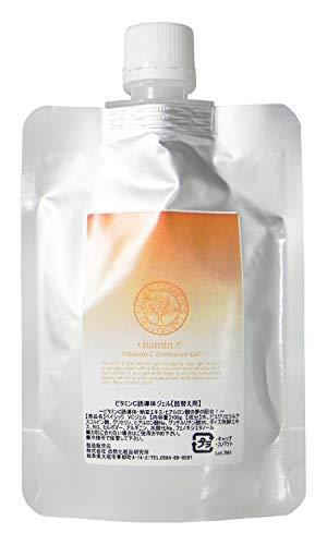 自然化粧品研究所 ビタミンC誘導体 ジェル 納豆エキス ヒアルロン酸配合 100g 詰め替え用