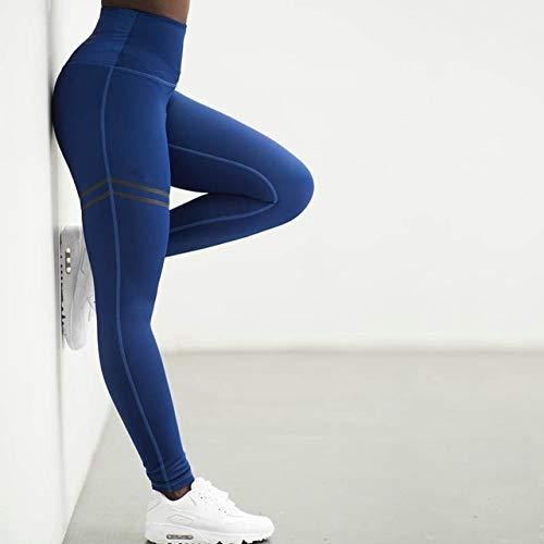 LLZSMJ Collants de Sport Femmes Sport Leggings Fitness Imprimé Taille Haute Yoga Sport Élasticité Collants De Course Athletic Stretch Workout Training Pants