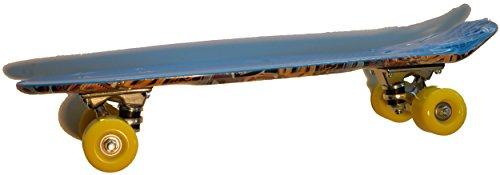 Bollinger PW-506A PennyBoard con Gráficos, Unisex niños, Azul, Talla Única