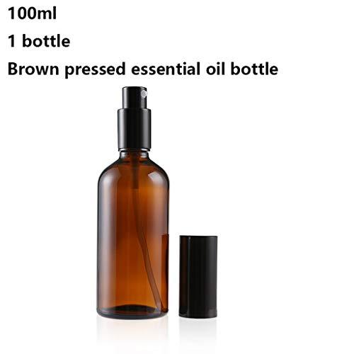 ZJY 20-100ml Essential Bouteille d'huile Bouteille Une Pression Essentielle Bouteille d'huile Bouteille cosmétique Parfum Bouteille Bouteilles vides 1