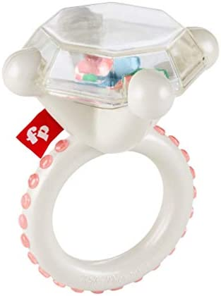 Fisher Price Rock n Rattle Teether Ring Baby Rattle and Teething Toy product image