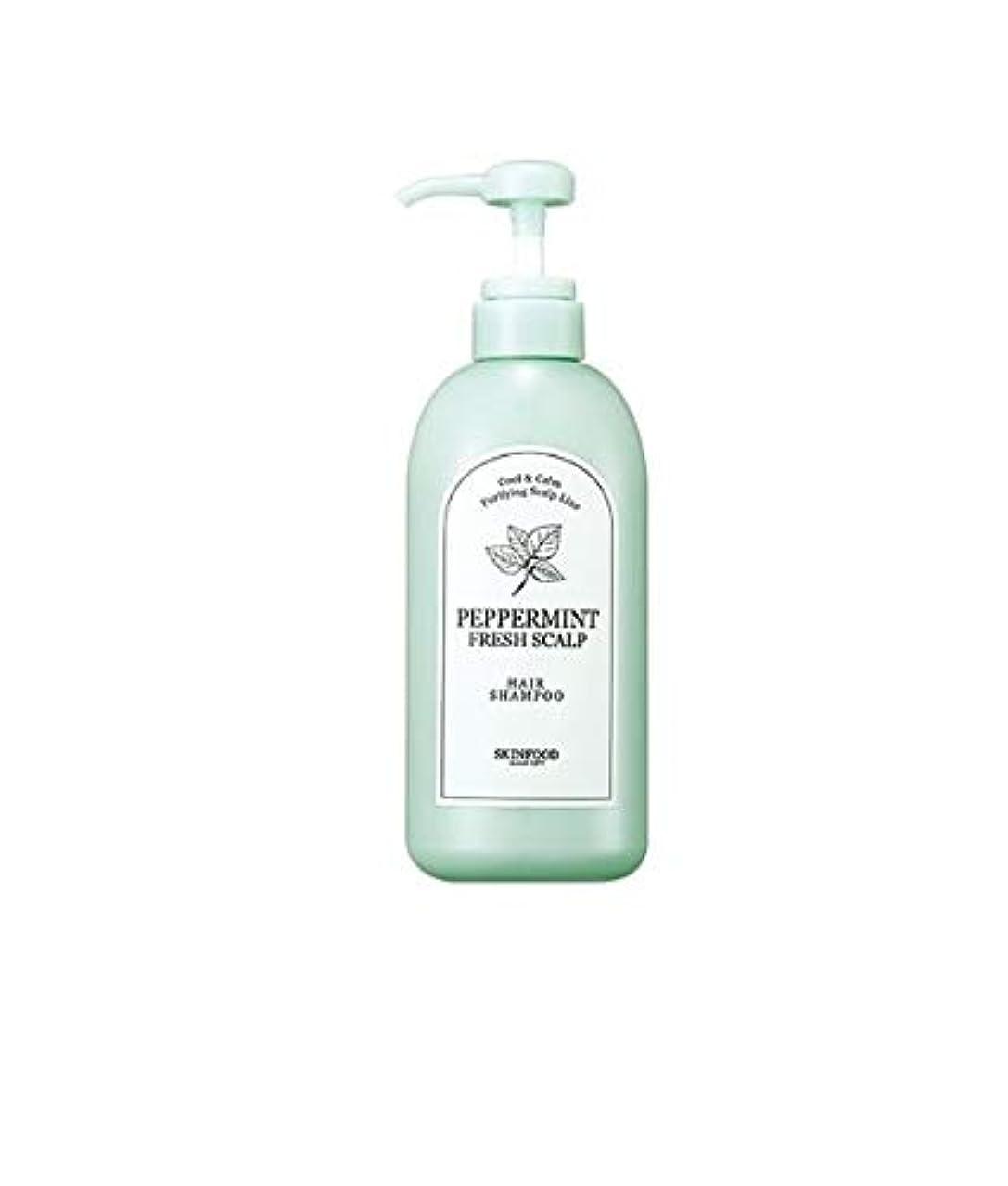 免疫する政権インタフェースSkinfood ペパーミントフレッシュスカルプシャンプー/Peppermint Fresh Scalp Shampoo 500ml [並行輸入品]