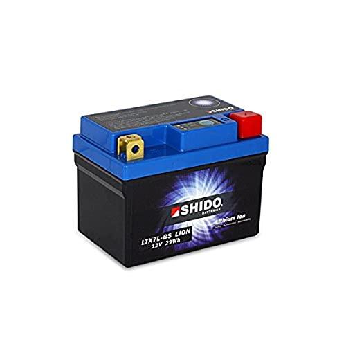 shido ltx7l de BS Lion–S batería de litio, Litio Azul (Precio incluye euros 7,50pfand)