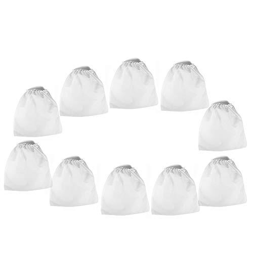Bolso no tejido del reemplazo - Bolsas de repuesto para aspiradoras para herramientas de salón de recolección de polvo para uñas 10 piezas