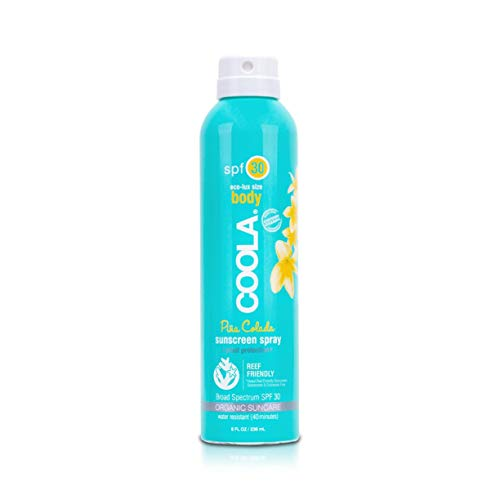 Coola Sport Continuous Spray SPF 30 Pina Colada 8 oz