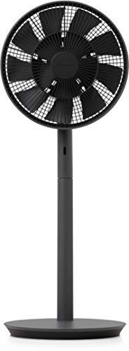 バルミューダ ザ・グリーンファン (ダークグレー×ブラック) 扇風機 DCモーター 二重構造の羽根 超静音 BALM...