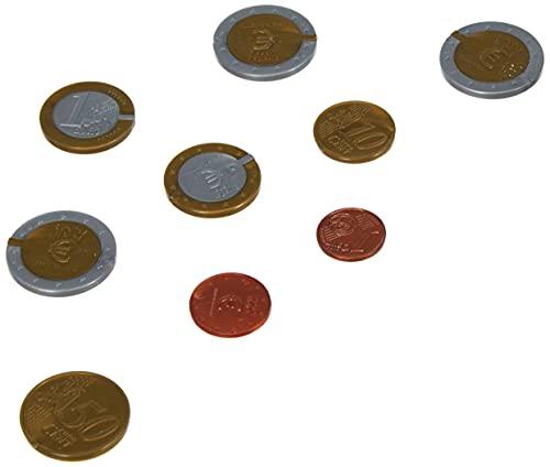 WISSNER aktiv lernen - Juego de monedas de 50 EURO - RE-Plástico (080610.000)