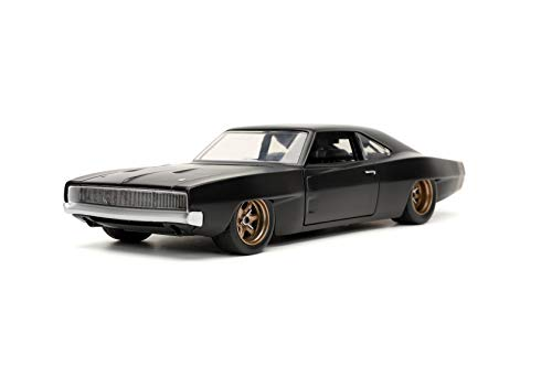 Jada Toys Fast & Furious F9 1:24 1968 Dodge Charger Widebody Die-cast Car, Toys for Kids and Adults