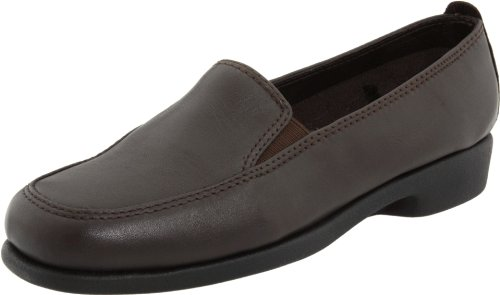 Hush Puppies Women's Heaven Slip On,Dark Brown,7 M US