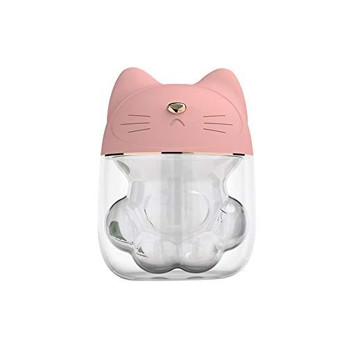 CNTJMJY 3 In 1 Luftbefeuchter Nette Katze Luftbefeuchter Luftfächer Diffusor Luftreiniger Zerstäuber Für Yoga Schlafzimmer Büro