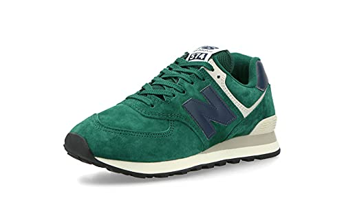 New Balance Zapatillas Iconic 574 V2 para hombre, verde, 44.5 EU