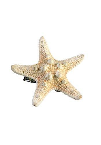 Forum Novelties 75002 Broche à cheveux en forme d'étoile de mer Pour femme Taille unique