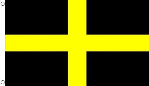 Pays de Galles ST David Croix de drapeau 8 'X5' (240 cm x 150 cm)