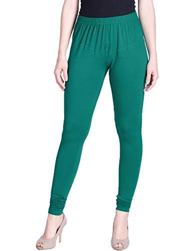 Lux Lyra Women's Leggings Silk_29_D.Z.Green_Free Size