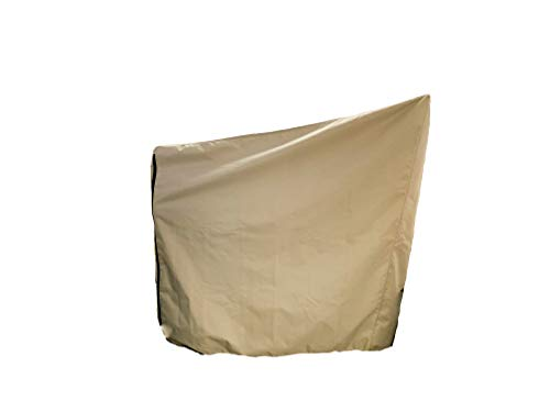 Equip, Inc. Protective Cover for Peloton Bike. Heavy Duty UV/Mold/Mildew/Water-Resistant/Indoor and Outdoor Cover (Tan)