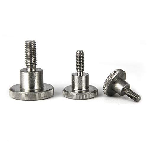 PROTECH 2 tornillos moleteados DIN 464 M4 x 20, acero inoxidable A1 VA, forma alta