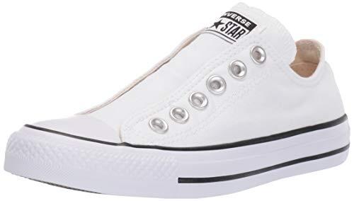 Converse Men#039s Chuck Taylor All Star Slip Sneaker White/Black/White 5 M US