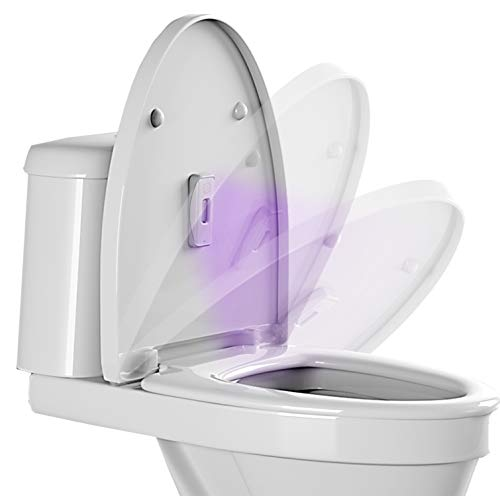 Toilet Bowl Cleaner UV Light Sanitizer – Kitchen Trash Can Cleaner, Diaper Trash Can Cleaner, Toilet Cleaner, Bathroom Cleaning Supplies, Ultraviolet Light Sanitizer Disinfection, UV Sanitizer Wand