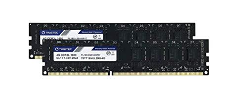 Timetec Hynix IC 8GB Kit (2x4GB) DDR3L 1600MHz PC3-12800 Unb
