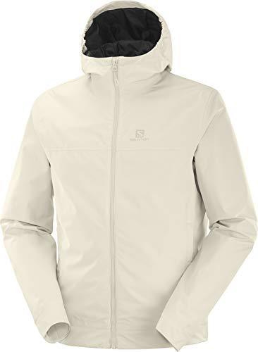 Salomon Regenjacke für Herren, EXPLORE WP JKT M, Polyester, beige (rainy day), Größe: L, LC1267800