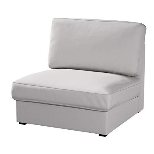 Dekoria Kivik Sesselbezug Husse passend für IKEA Modell Kivik, hellgrau