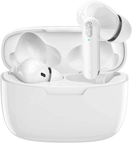 Wireless Earbuds Bluetooth 5.0 Earphones Noise-Canceling Headset with...
