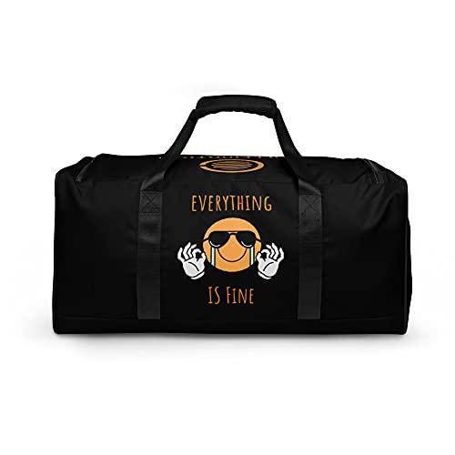 Caffeination World Duffle Bag, tutto va bene