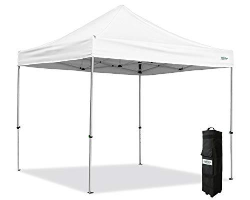 Caravan Canopy CAB10010 10' x 10' Alumashade Instant, White Canopy